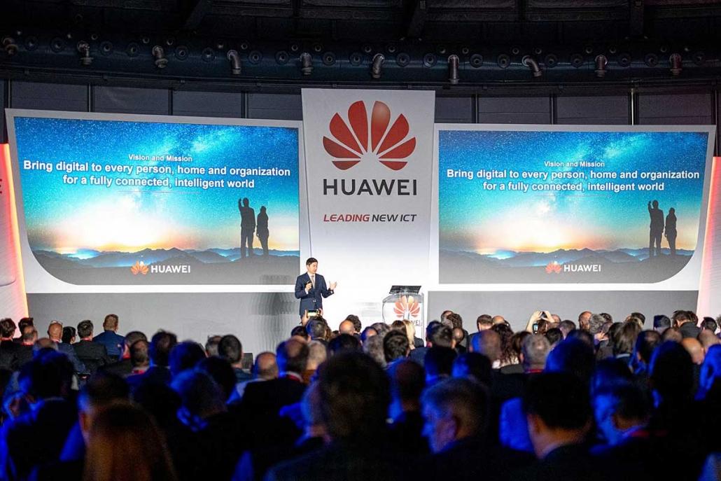 Huawei Convention Enterprise Como 2019
